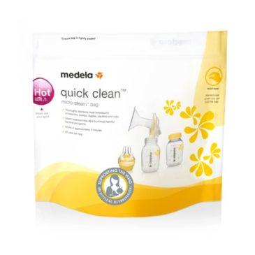 Bolsas esterilizadoras para microondas Quick Clean